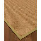 Badham Hand-Woven Wool Beige Area Rug Rug Size: Rectangle 6' x 9'