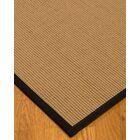 Badham Hand-Woven Wool Beige Area Rug Rug Size: Rectangle 5' x 8'