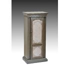 Luevano Free Standing Jewelry Armoire with Mirror