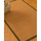 Kelson Border Hand-Woven Brown/Olive Area Rug Rug Size: Rectangle 8' x 10'