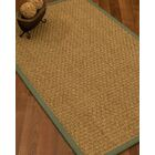 Antiqua Border Hand-Woven Beige/Fossil Area Rug Rug Pad Included: No, Rug Size: Runner 2'6