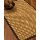 Castiglia Border Hand-Woven Beige/Fudge Area Rug Rug Size: Rectangle 5' x 8', Rug Pad Included: Yes