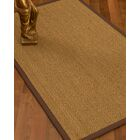 Mahaney Border Hand-Woven Beige/Brown Area Rug Rug Size: Rectangle 5' x 8', Rug Pad Included: Yes