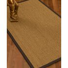 Mahaney Border Hand-Woven Beige/Brown Area Rug Rug Pad Included: No, Rug Size: Rectangle 3' x 5'