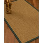 Mahaney Border Hand-Woven Beige Area Rug Rug Size: Rectangle 4' x 6', Rug Pad Included: Yes
