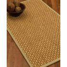 Castiglia Border Hand-Woven Beige/Sand Area Rug Rug Size: Rectangle 9' x 12', Rug Pad Included: Yes