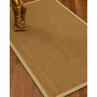Mahaney Border Hand-Woven Beige/Sand Area Rug Rug Size: Rectangle 9' x 12', Rug Pad Included: Yes