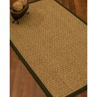 Antiqua Border Hand-Woven Beige/Moss Area Rug Rug Size: Rectangle 12' x 15', Rug Pad Included: Yes
