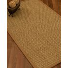 Antiqua Border Hand-Woven Beige/Sienna Area Rug Rug Size: Rectangle 8' x 10', Rug Pad Included: Yes