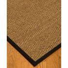 Chavarria Border Hand-Woven Beige/Black Area Rug Rug Size: Rectangle 12' x 15', Rug Pad Included: Yes