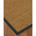 Chavarria Border Hand-Woven Beige/Marine Area Rug Rug Size: Rectangle 6' x 9', Rug Pad Included: Yes