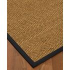 Chavarria Border Hand-Woven Beige/Midnight Blue Area Rug Rug Pad Included: No, Rug Size: Rectangle 3' x 5'