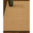 Chaves Border Hand-Woven Wool Beige/Malt Area Rug Rug Size: Rectangle 6' x 9', Rug Pad Included: Yes