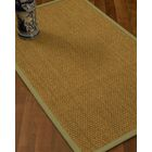 Rosabel Border Hand-Woven Beige/Natural Area Rug Rug Size: Rectangle 4' x 6', Rug Pad Included: Yes