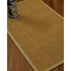 Rosabel Border Hand-Woven Beige/Sand Area Rug Rug Size: Rectangle 9' x 12', Rug Pad Included: Yes