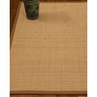 Chaves Border Hand-Woven Wool Beige/Sienna Area Rug Rug Size: Rectangle 5' x 8', Rug Pad Included: Yes