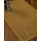 Rosabel Border Hand-Woven Beige/Tan Area Rug Rug Size: Rectangle 6' x 9', Rug Pad Included: Yes