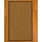 Asmund Border Hand-Woven Brown Area Rug Rug Pad Included: No, Rug Size: Runner 2'6