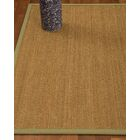 Heidenreich Border Hand-Woven Beige/Natural Area Rug Rug Size: Rectangle 12' x 15', Rug Pad Included: Yes