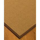Atia Border Hand-Woven Beige/Brown Area Rug Rug Size: Rectangle 6' x 9', Rug Pad Included: Yes