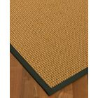 Atia Border Hand-Woven Beige/Metal Area Rug Rug Size: Rectangle 12' x 15', Rug Pad Included: Yes