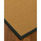 Atia Border Hand-Woven Beige/Onyx Area Rug Rug Size: Rectangle 8' x 10', Rug Pad Included: Yes