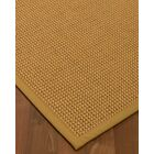 Atia Border Hand-Woven Beige Area Rug Rug Size: Rectangle 8' x 10', Rug Pad Included: Yes