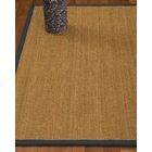 Heidenreich Border Hand-Woven Beige/Marine Area Rug Rug Size: Rectangle 12' x 15', Rug Pad Included: Yes