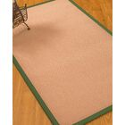 Farnham Border Hand-Woven Wool Pink/Green Area Rug Rug Size: Rectangle 9' x 12', Rug Pad Included: Yes