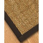 Maglio Border Hand-Woven Brown Area Rug Rug Size: Rectangle 8' x 10', Rug Pad Included: Yes