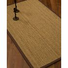 Vanmatre Border Hand-Woven Beige/Brown Area Rug Rug Pad Included: No, Rug Size: Runner 2'6