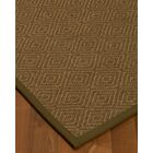 Magnuson Border Hand-Woven Brown Area Rug Rug Size: Rectangle 8' x 10', Rug Pad Included: Yes