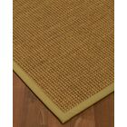 Chavez Border Hand-Woven Beige Area Rug Rug Size: Rectangle 6' x 9', Rug Pad Included: Yes