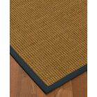 Chavez Border Hand-Woven Beige/Marine Area Rug Rug Size: Rectangle 4' x 6', Rug Pad Included: Yes