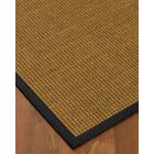 Chavez Border Hand-Woven Beige/Midnight Blue Area Rug Rug Pad Included: No, Rug Size: Runner 2'6