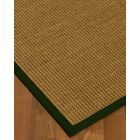 Chavez Border Hand-Woven Beige/Moss Area Rug Rug Size: Rectangle 6' x 9', Rug Pad Included: Yes