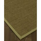 Chavez Border Hand-Woven Beige/Sand Area Rug Rug Size: Rectangle 8' x 10', Rug Pad Included: Yes
