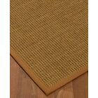 Chavez Border Hand-Woven Beige/Sienna Area Rug Rug Size: Rectangle 5' x 8', Rug Pad Included: Yes