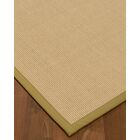Vannatta Border Hand-Woven Wool Beige Area Rug Rug Size: Rectangle 6' x 9', Rug Pad Included: Yes