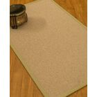 Chavira Border Hand-Woven Wool Beige/Sand Area Rug Rug Size: Rectangle 5' x 8', Rug Pad Included: Yes