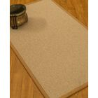Chavira Border Hand-Woven Wool Beige/Sienna Area Rug Rug Size: Rectangle 5' x 8', Rug Pad Included: Yes