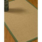 Jacobs Border Hand-Woven Beige/Green Area Rug Rug Size: Rectangle 12' x 15', Rug Pad Included: Yes