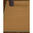 Magruder Border Hand-Woven Wool Beige/Sand Area Rug Rug Size: Rectangle 8' x 10', Rug Pad Included: Yes