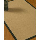 Jacobs Border Hand-Woven Beige/Onyx Area Rug Rug Pad Included: No, Rug Size: Rectangle 3' x 5'