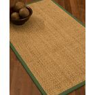 Caster Border Hand-Woven Beige/Green Area Rug Rug Size: Rectangle 5' x 8', Rug Pad Included: Yes