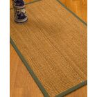 Kimberwood Border Hand-Woven Brown/Fossil Area Rug Rug Size: Rectangle 8' x 10', Rug Pad Included: Yes