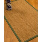 Kimberwood Border Hand-Woven Brown/Green Area Rug Rug Size: Rectangle 9' x 12', Rug Pad Included: Yes