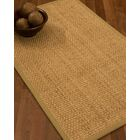 Caster Border Hand-Woven Beige/Sage Area Rug Rug Size: Rectangle 12' x 15', Rug Pad Included: Yes