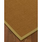 Antonina Border Hand-Woven Brown/Khaki Area Rug Rug Size: Rectangle 12' x 15', Rug Pad Included: Yes