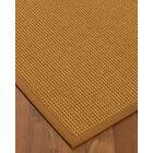 Aula Border Hand-Woven Brown/Sienna Area Rug Rug Pad Included: No, Rug Size: Rectangle 3' x 5'